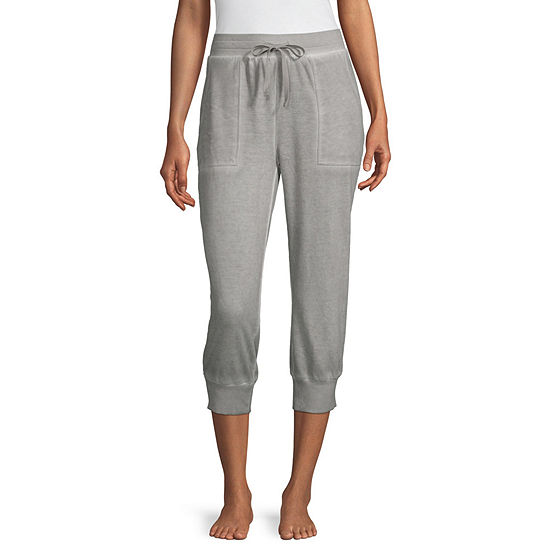 Ambrielle Womens French Terry Pajama Pants