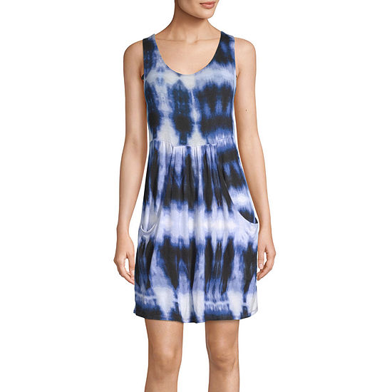 a.n.a Tie Dye Dress Swimsuit Cover-Up