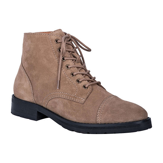 Dingo Mens Hutch Lace Up Boots Block Heel