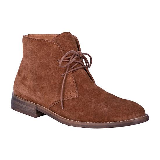 Dingo Mens Opie Chukka Boots Block Heel