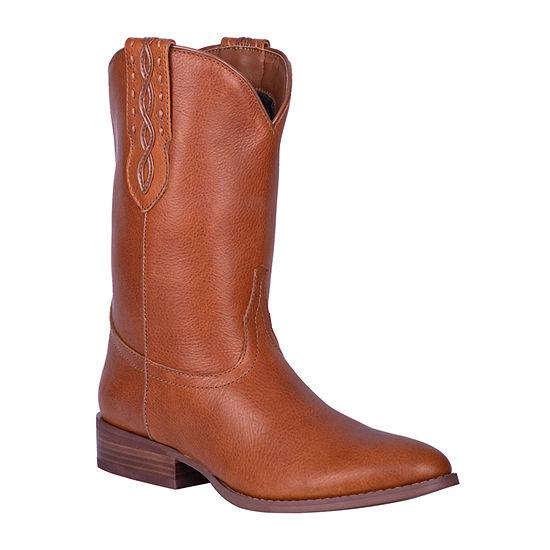 Dingo Mens Poncho Cowboy Boots Block Heel