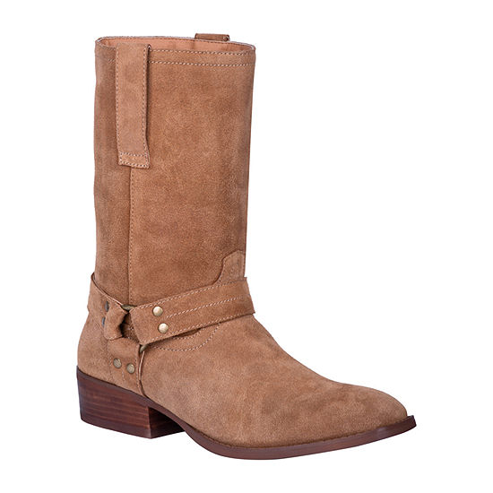 Dingo Mens Buster Cowboy Boots Block Heel