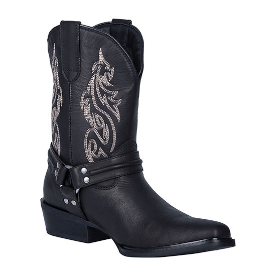 Dingo Mens Dragon Cowboy Boots Block Heel