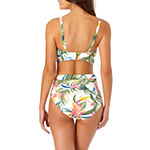 Liz Claiborne Tropical Bra Swimsuit Top or Swimsuit Bottom