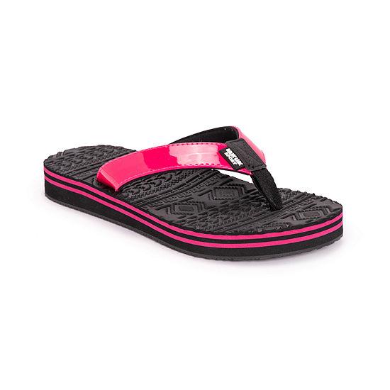 Muk Luks Womens Emma Flat Sandals