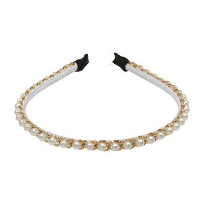 Worthington Simulated Pearl Headband