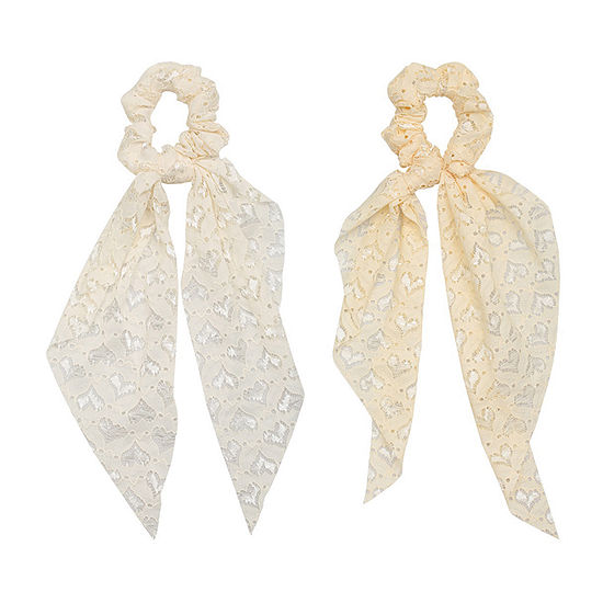 a.n.a Ivory Lace Hair Ties