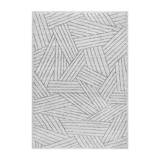 nuLoom Vintage Striped Louisa Rectangular Rug