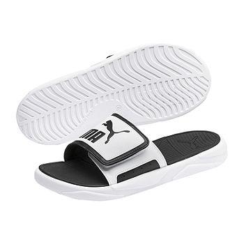 Puma Mens Royal Cat Comfort Slide Sandals