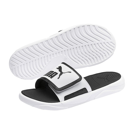 Puma Mens Royal Cat Comfort Slide Sandals