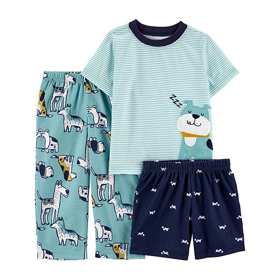 Carter's Toddler Boys 3-pc. Pajama Set