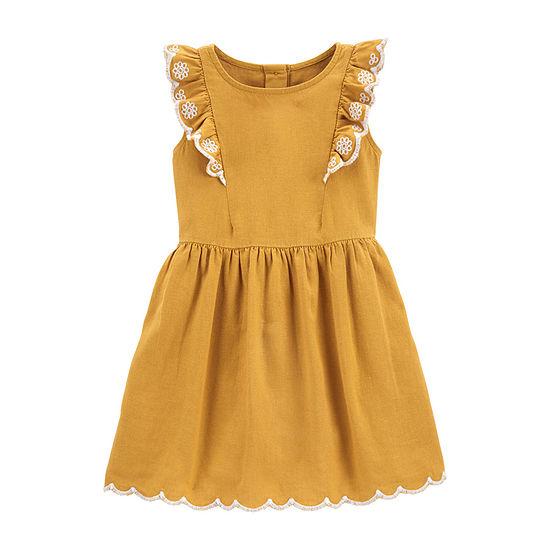 Carter's Toddler Girls Short Sleeve Sundress