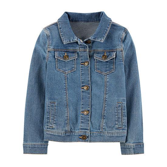 Carter's Little & Big Girls Denim Jacket