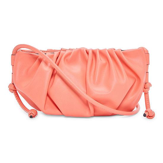 Worthington Small Ruched Crossbody Bag