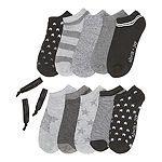 999998 10 Pair No Show Womens Socks