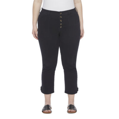 a.n.a-Plus Womens Modern Fit Ankle Pant