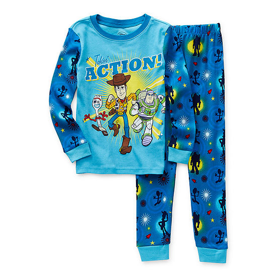 Disney Collection Little & Big Boys 2-pc. Toy Story Pajama Set