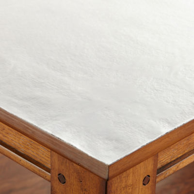 Superieur Solid White Protector Table Pad