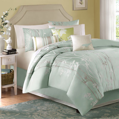 Madison Park Athena 7-pc. Jacquard Comforter Set