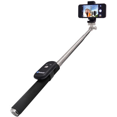 The Original Selfie Stick - Self-Portrait Handheld Monopod with Bluetooth Remote