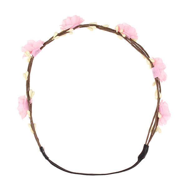 Capelli of New York Floral Elastic Headwrap