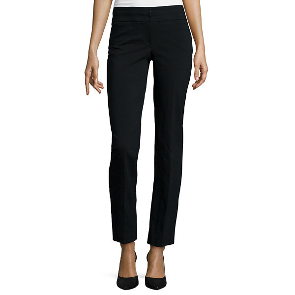 Heart & Soul® Double-Waistband Trouser Pants