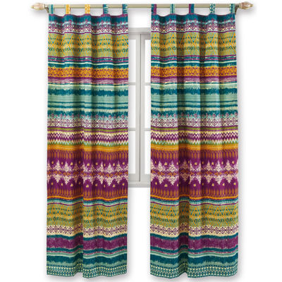 this review is home fashions southwest 2pack tabtop curtain panels - Greenland Home Fashions