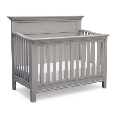 Simmons Kids® Fairmont 4-In-1 Convertible Crib - Gray