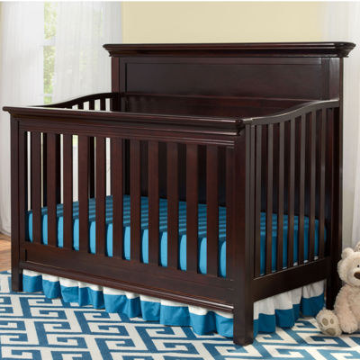 Simmons Kids® Fairmont 4-In-1 Crib - Dark Chocolate