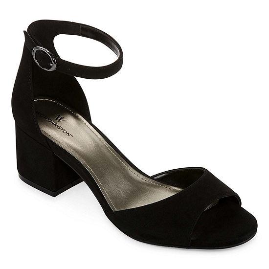 Worthington Womens Ischia Pumps Open Toe Stiletto Heel