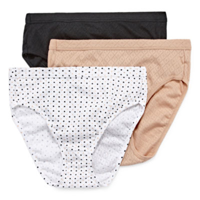 Jockey Elance® Breathe 3 Pair High Cut Panty 1541
