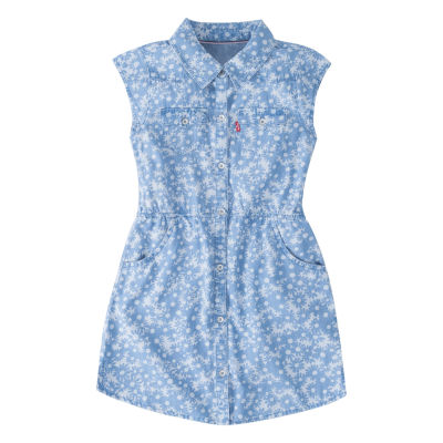 Levi's Short Sleeve Sundress - Preschool Girls