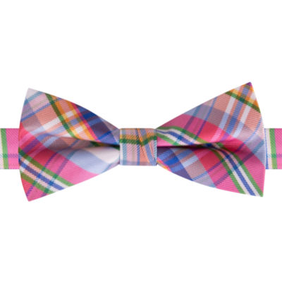 IZOD Plaid Bow Tie