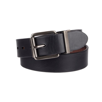 Levi Brown/Black Reversible Belt - Boys 8-20