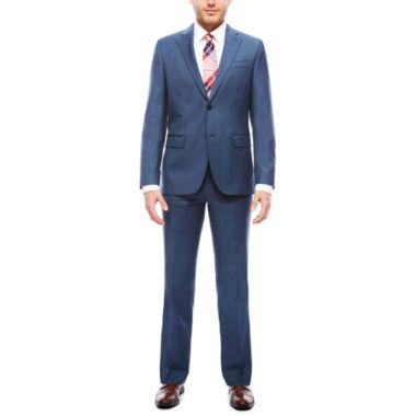 jcpenney.com | JF J. Ferrar Stretch Blue Sheen Sharkskin Suit Separates- Slim Fit