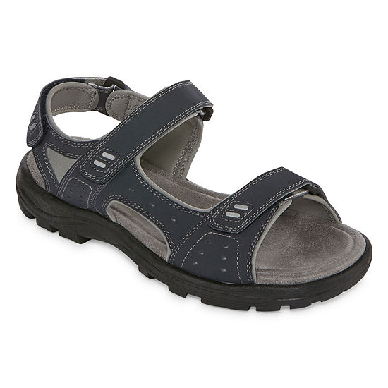 St John S Bay Mens Sunter Strap Sandals Color Navy
