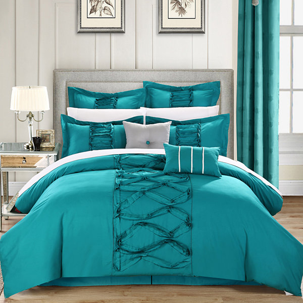 Chic Home Ruth 12-pc. Complete Bedding Set With Sheets
