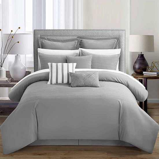 Chic Home Bren 13 Pc Complete Bedding Set With Sheets