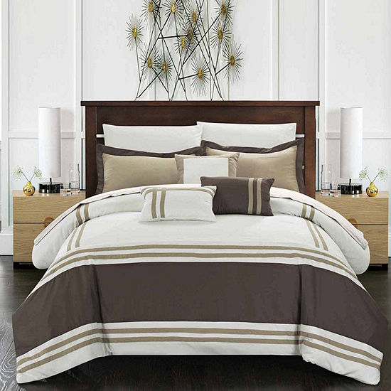 Chic Home Zarah 10 Pc Comforter Set