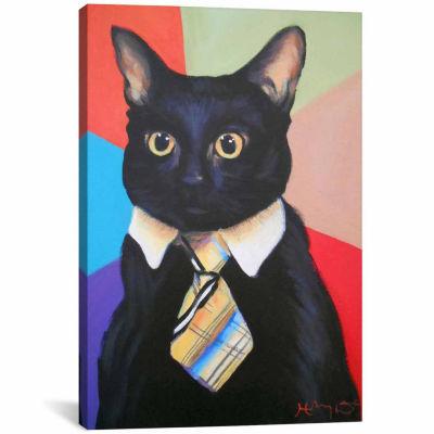 Icanvas Business Cat Canvas Art