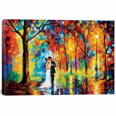 Icanvas Rainy Wedding Canvas Art