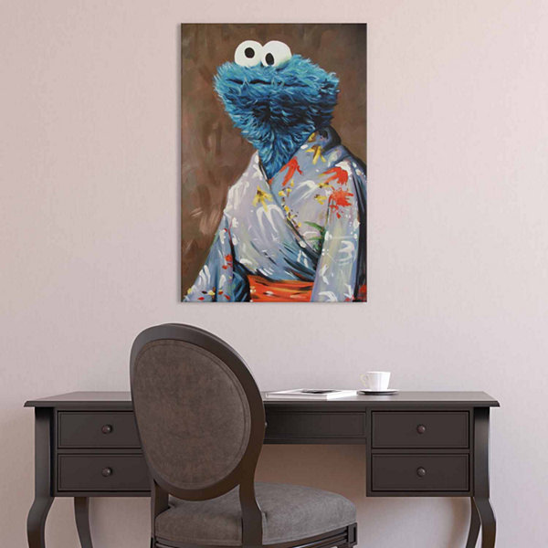 Icanvas Kimono Monster Canvas Art