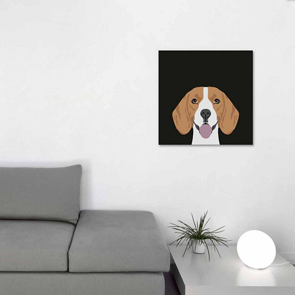 Icanvas Beagle Canvas Art