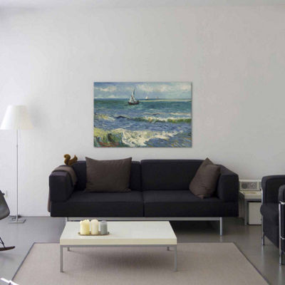 Icanvas Seascape Near Saintes-Maries-De-La-Mer Canvas Art