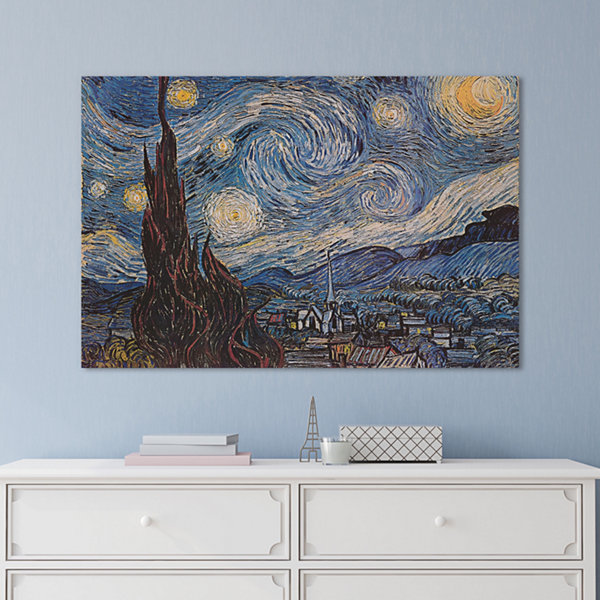 Icanvas The Starry Night Canvas Art