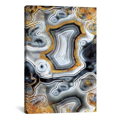 Icanvas Geode Onyx Canvas Art