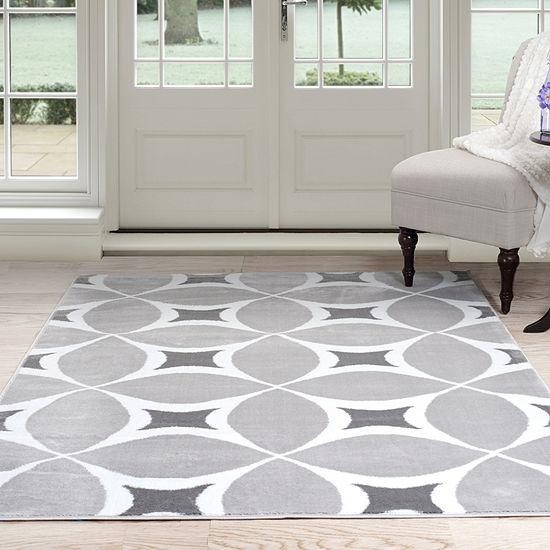 Cambridge Home Geometric Rectangular Indoor Rugs