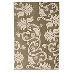 Cambridge Home Floral Scroll Rectangular Indoor Rugs