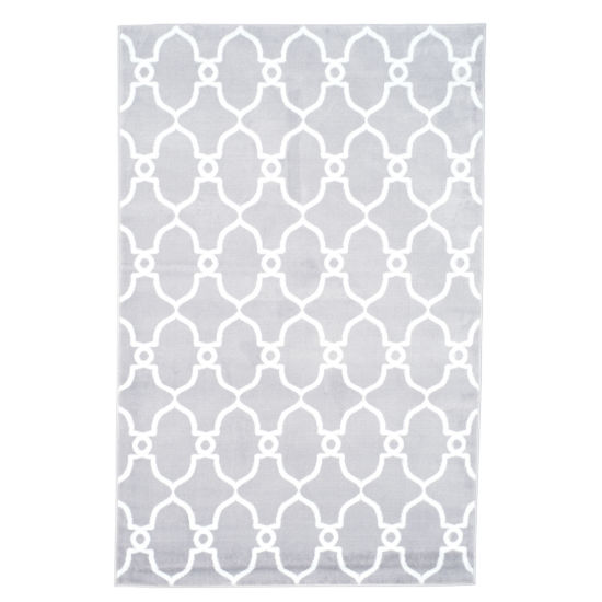 Cambridge Home Lattice Rectangular Indoor Area Rug