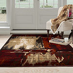 Cambridge Home Artfully Abstract Rectangular Indoor Rugs